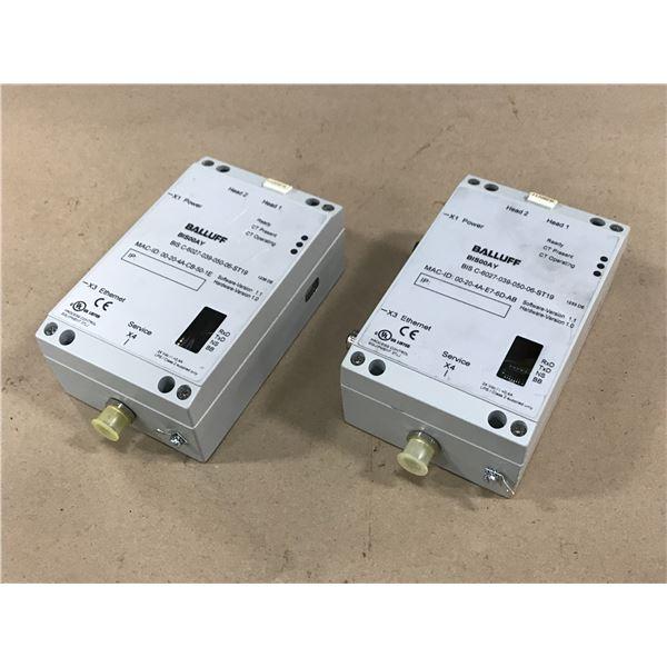(2) BALLUFF BIS C-6027-039-050-06-ST19 CONTROL