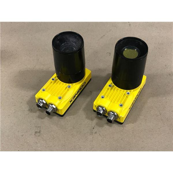 (2) COGNEX 825-0221-1R J CAMERA