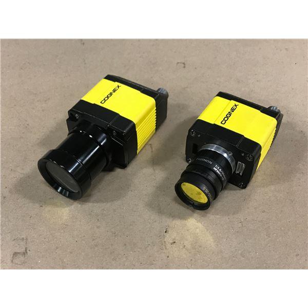 (2) COGNEX 825-0300-1R H CAMERA