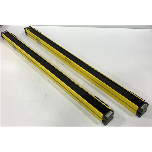 LOT OF SICK MSLE03-24011 / MSLS03-24071 LIGHT CURTAINS