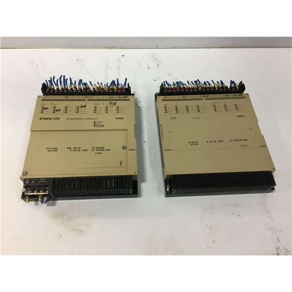 (2) Omron Sysmac C20 Programmable Controller SC072