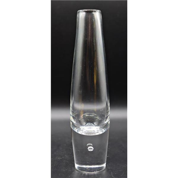 Signed Steuben Glass Tear Drop Bud Vase