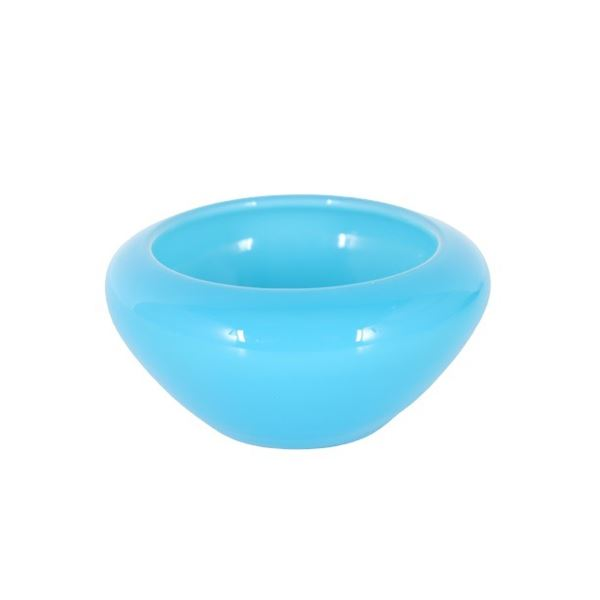 Steuben Light Blue Jade Bowl