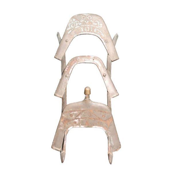 Antique Middle Eastern Camel Seat Saddle Frame