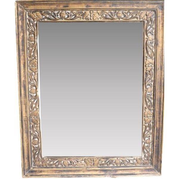 Large Carved Wood Frame