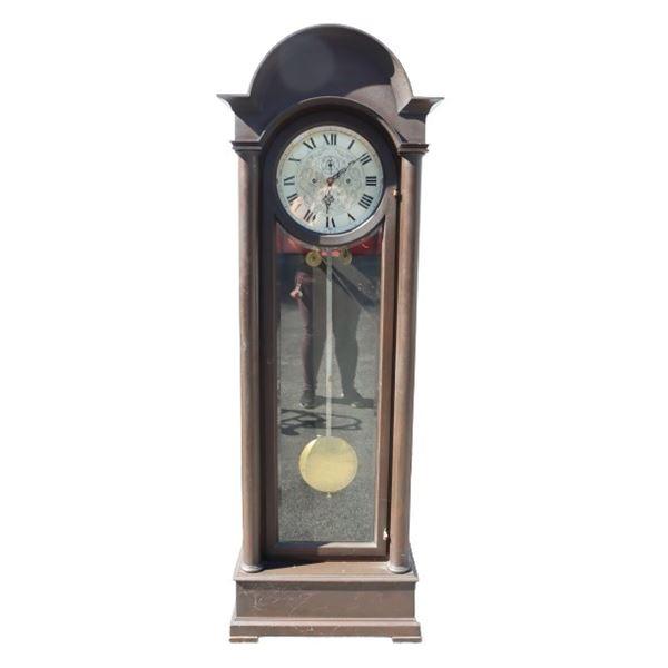 Antique Roundtop Grandfather Clock