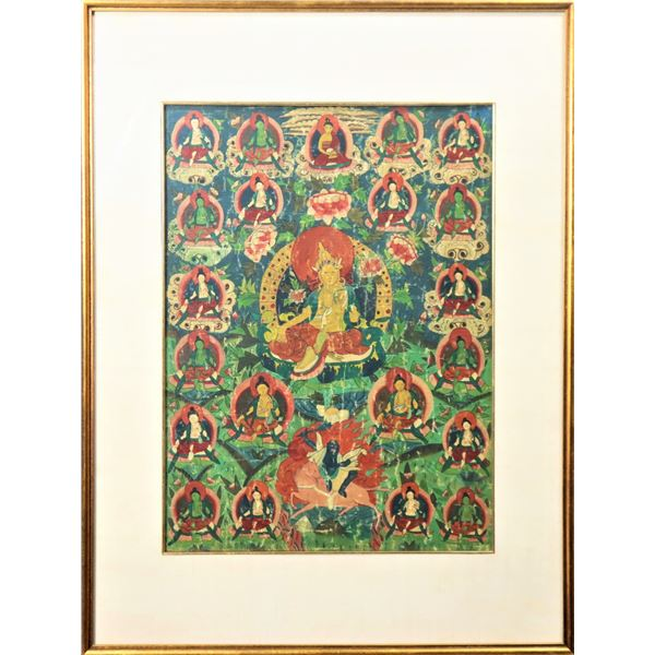 19th C. Bhutanese Thangka