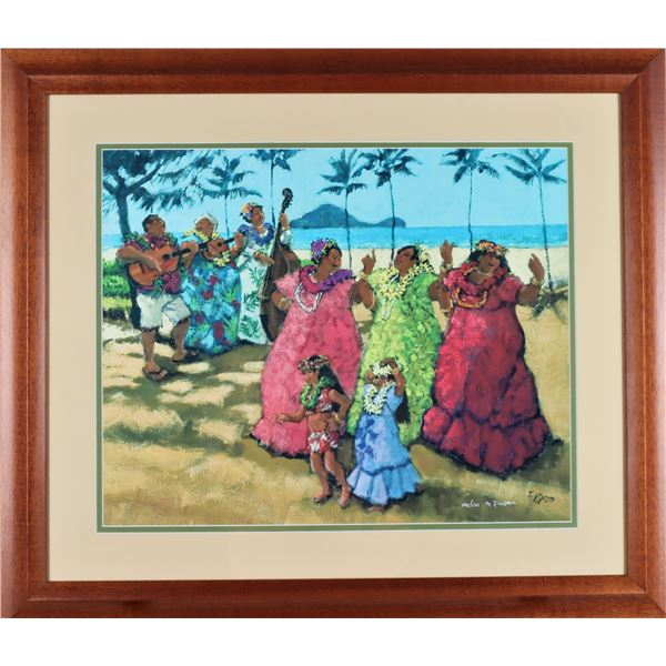 Al Furtado (1930-2012) The Ohana Beach Party