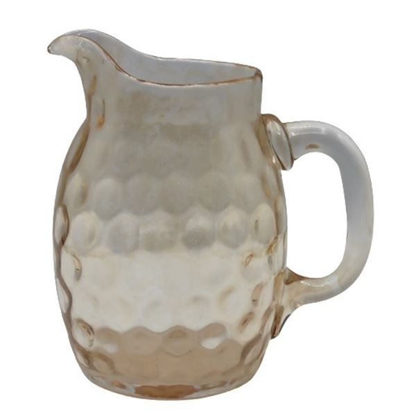 Hand-Blown Glass Pitcher