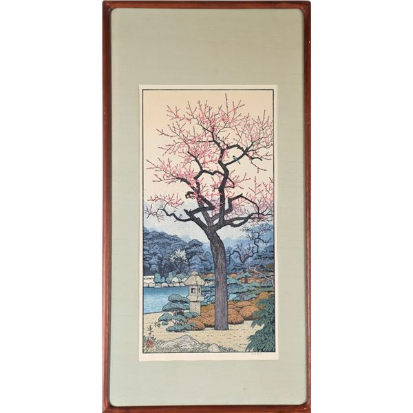 Toshi Yoshida (1911-1995) Japanese Woodblock