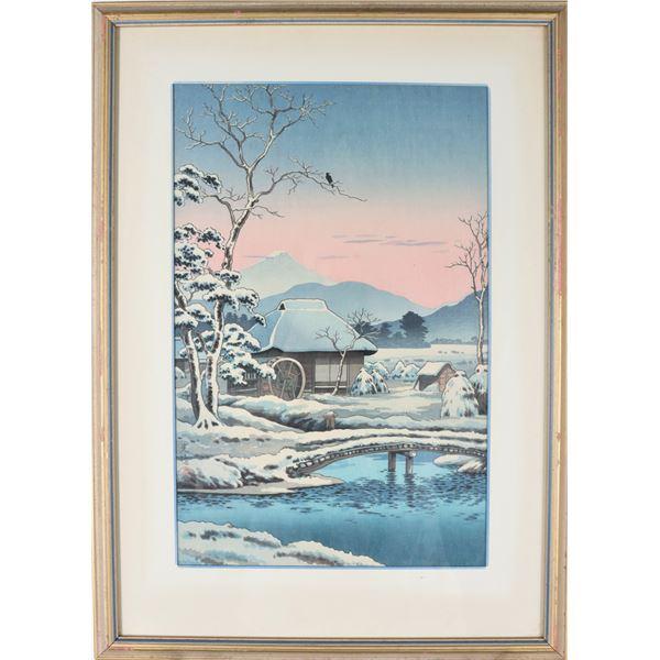 Japanese Colored Woodblock Print