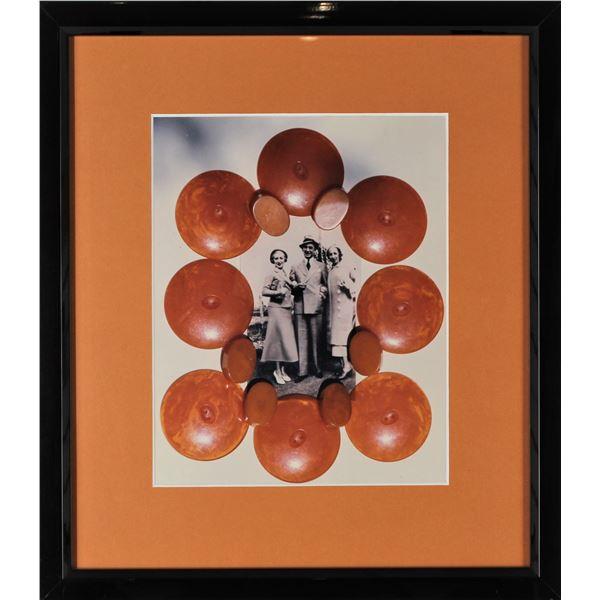 Photo Print of Vintage Imagery, Framed