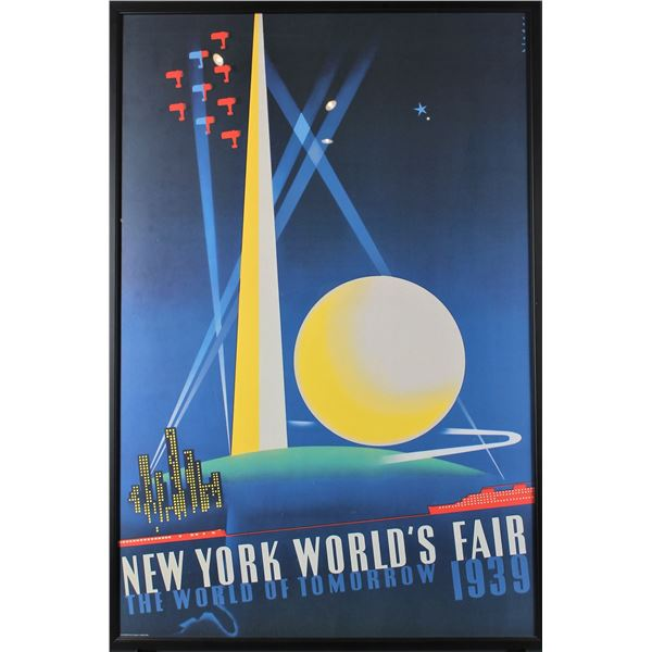 Poster of 1939 New York World's Fair