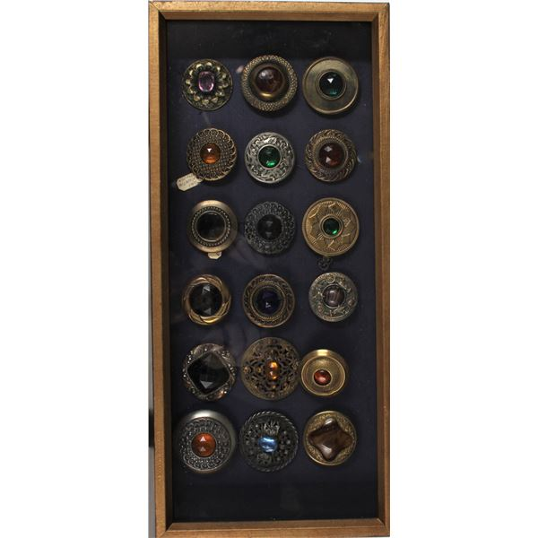Framed Collection Vintage Buttons