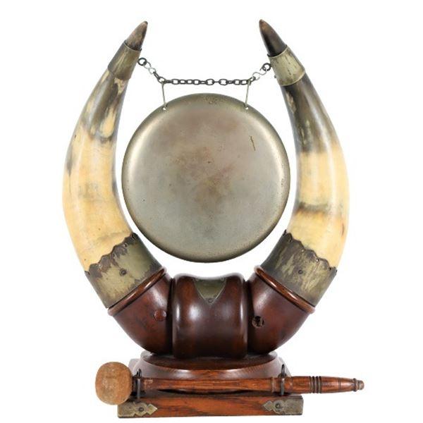 Steer Horn Gong