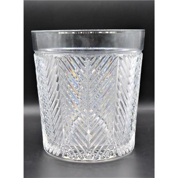 Ralph Lauren Crystal Herringbone Champagne Bucket