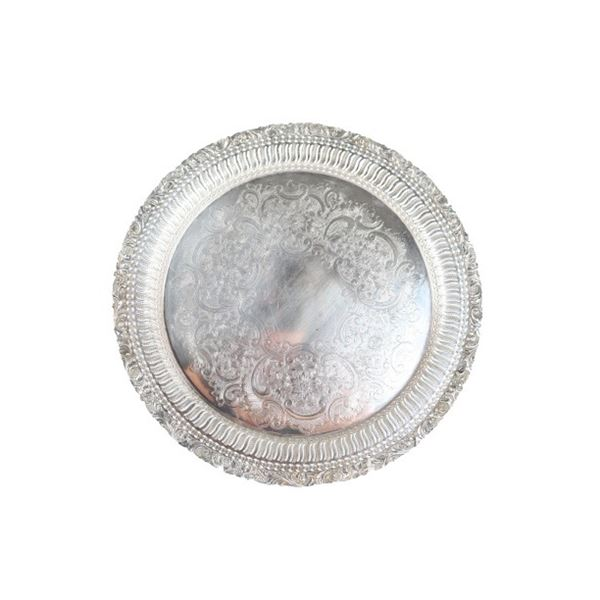 English Silver Plated Tray