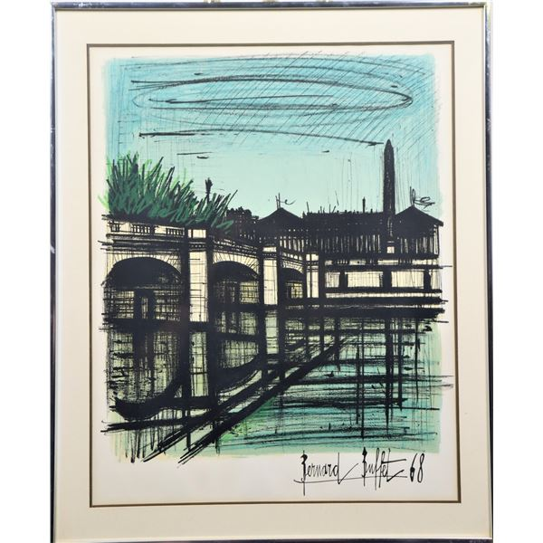 Bernard Buffet (1928-1999) French, Colored Litho
