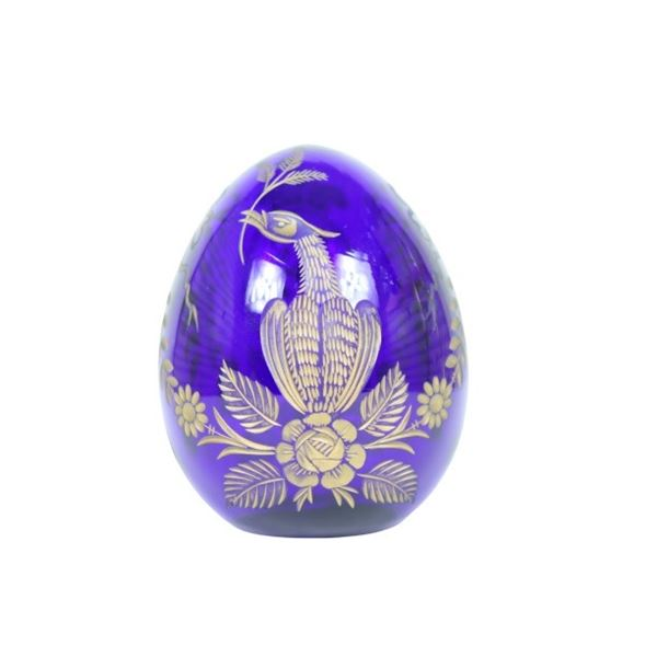 Russian Blue Crystal Egg