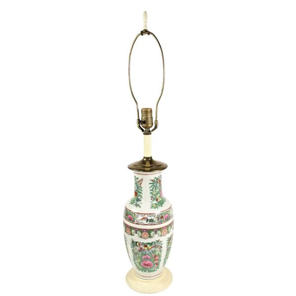 Chinese Hand Painted Lamp
