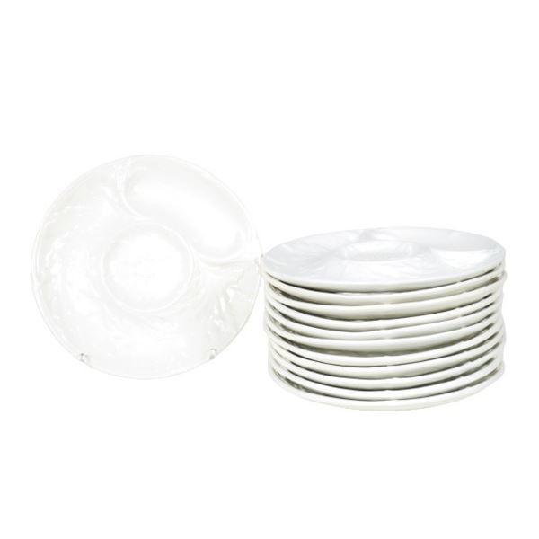 (12) French Artichoke Plates