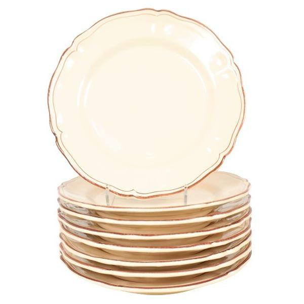 (8) Italian Dinner Plates