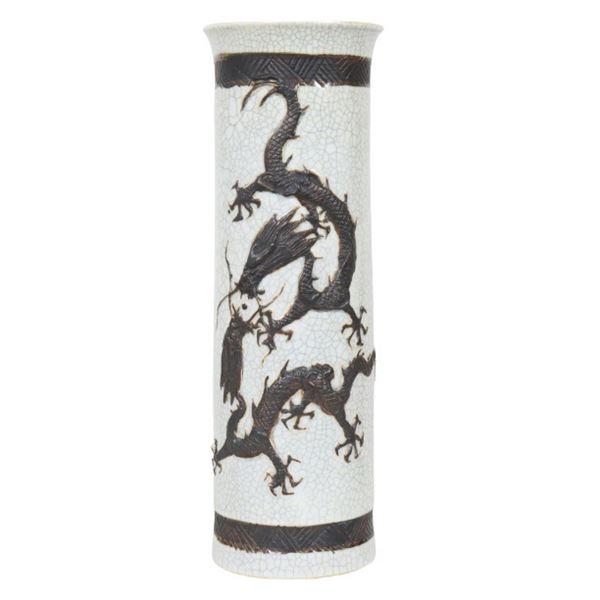 Asian Vase, Stoneware