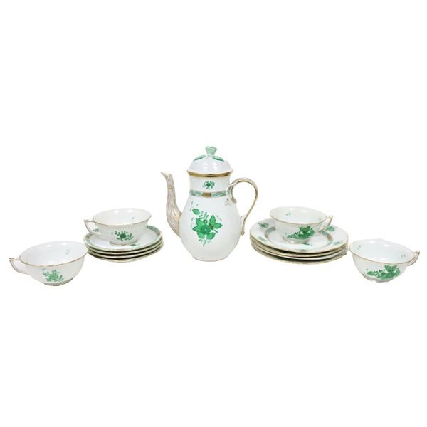 Herend Hungary Serving Set