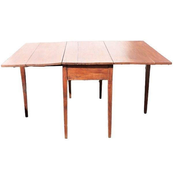 Antique Wooden Drop Leaf Table