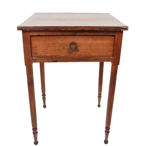 Wooden Side Table c. 1860/70
