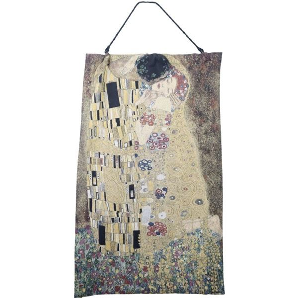 Jacquard Wall Hanging, 'The Kiss', Gustav Klimt