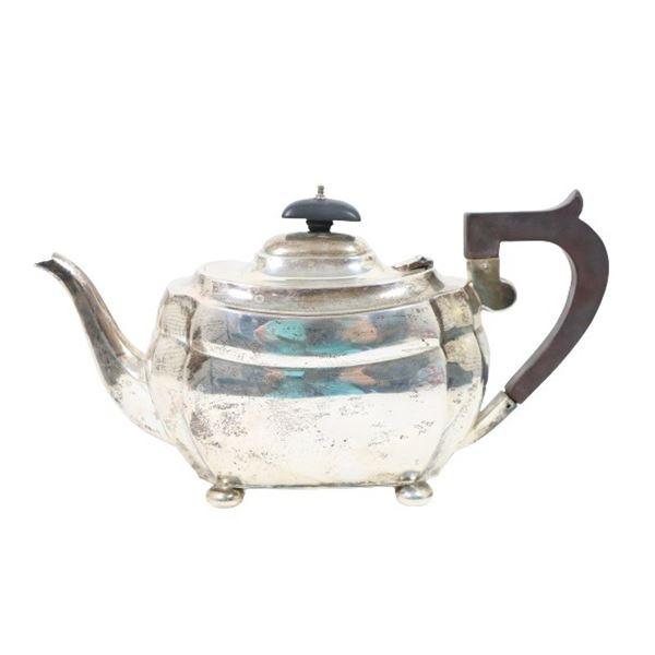 English Sterling Silver Teapot