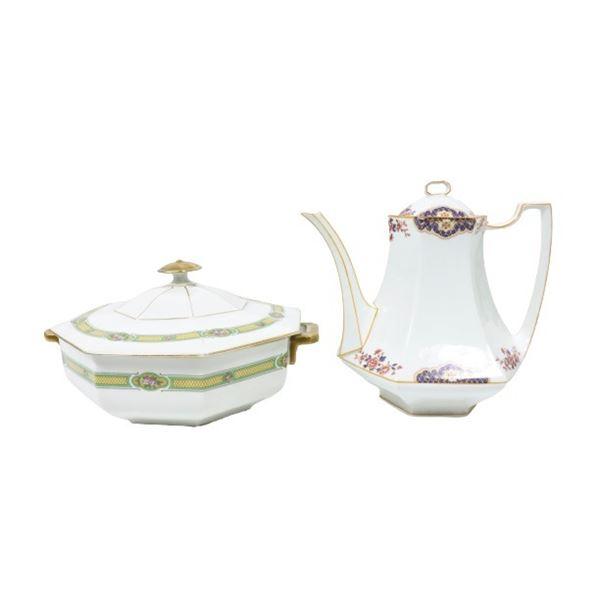 (2) Pieces of Lanternier & Co. Limoges Porcelain