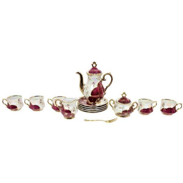 (14) Pc. Chinese Tea Set