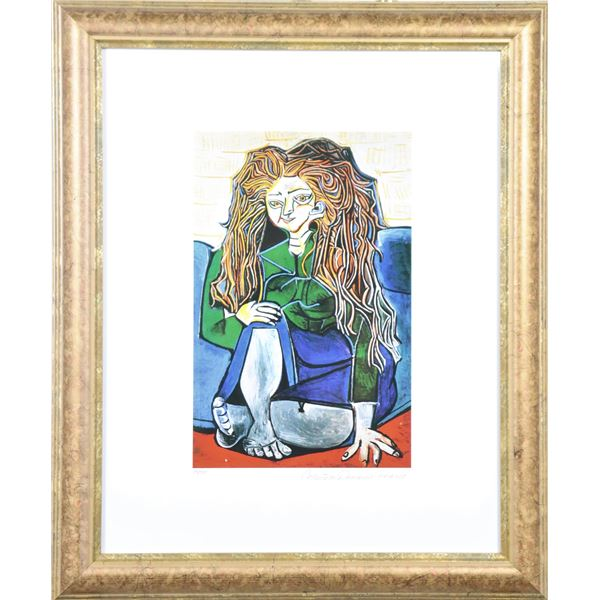 Pablo Picasso Giclee with COA