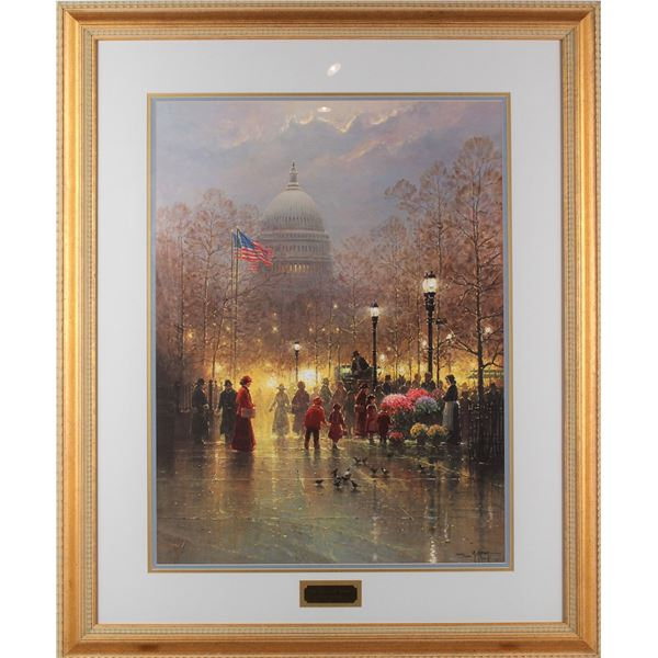 G. Harvey 'The American Dream' Lithograph