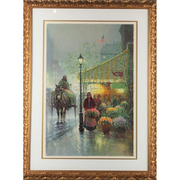 G. Harvey, 'The Yellow Awning', Framed Print