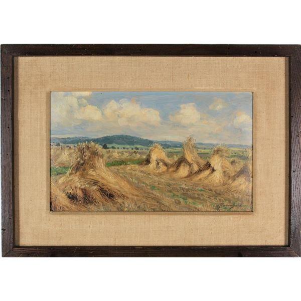 Ernst Frommhold (1879-1955) German, Oil on Panel