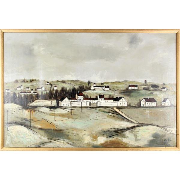 Zola Zaugg (1890-1983) American, Oil on Board