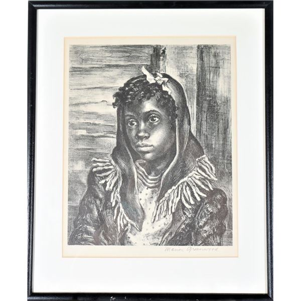 Marion Greenwood (1909-1970) American, Lithograph