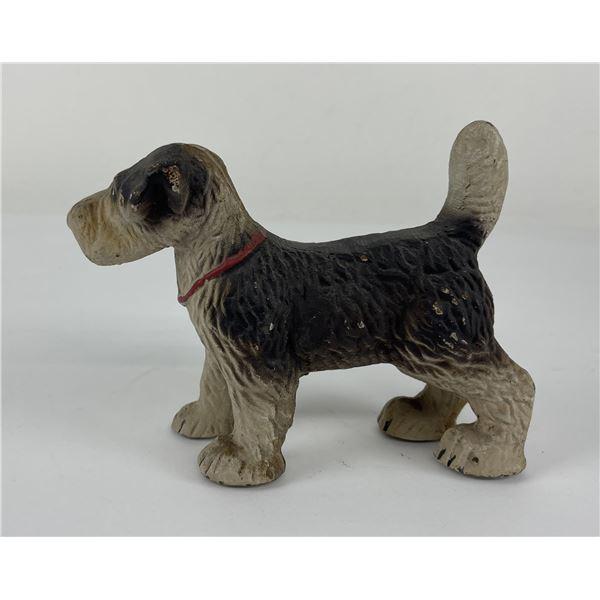 Antique Cast Iron Fox Terrier