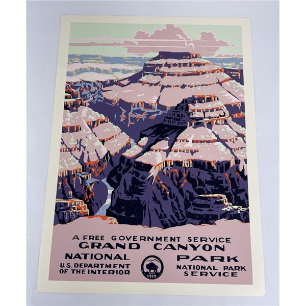 Grand Canyon National Park Naturalist Poster