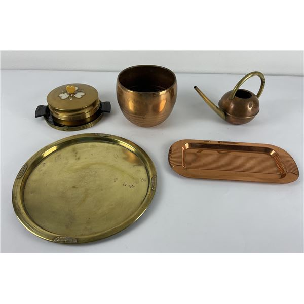 Chase Chrome Brass Copper Serving Items