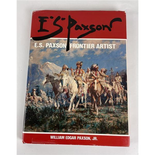 ES Paxon Frontier Artist Book