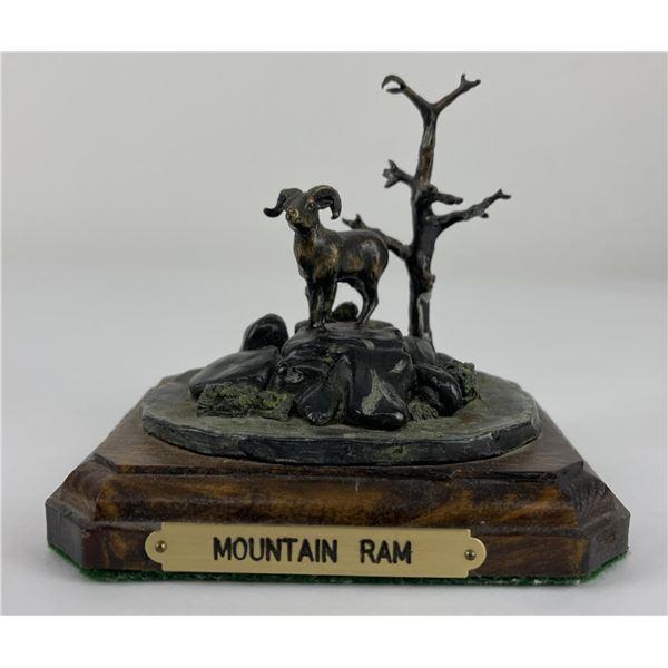 Montana Bighorn Sheep Ram Bronze