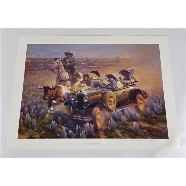 The Windshield Cowboys Signed Numbered Gary Carter