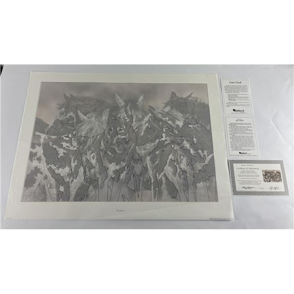 Judy Larson Packherd Signed and Numbered Print