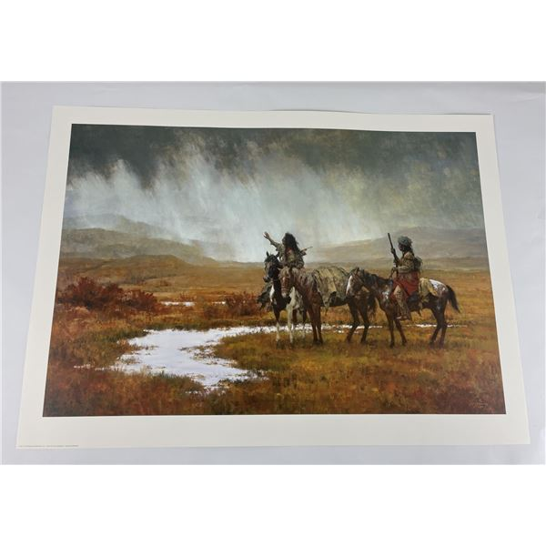Howard Terpning Signed and Numbered Print