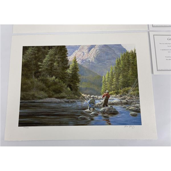 Pair of Paco Young Rocky Mountain Run Prints