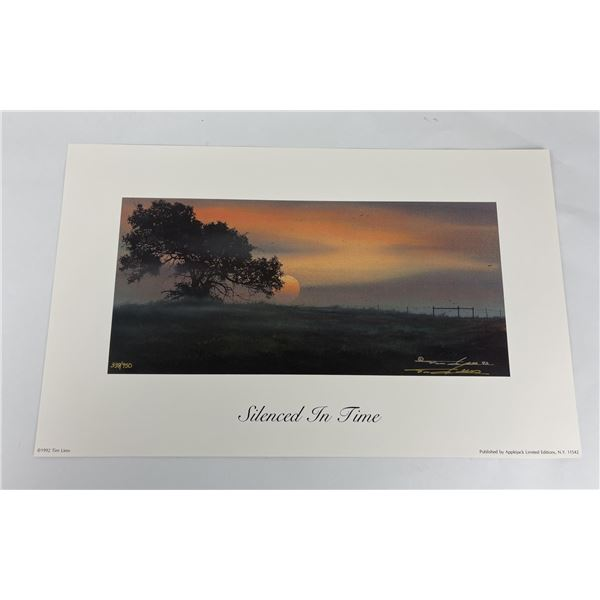 Silenced in Time Tim Liess Signed Numbered Print
